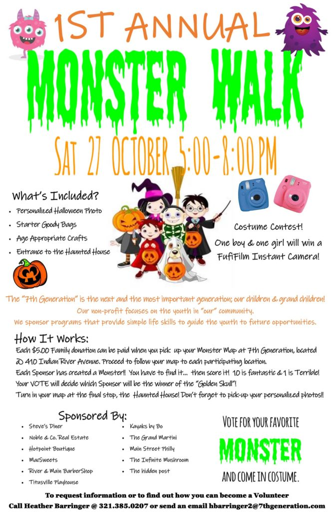 2018 Monster Walk Details