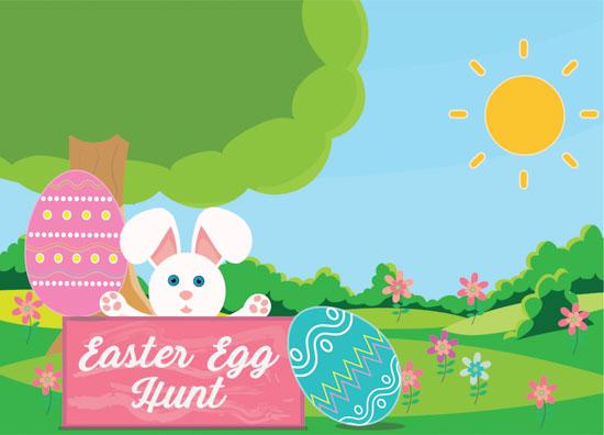 Easter Egg Scavenger Hunt April 6th