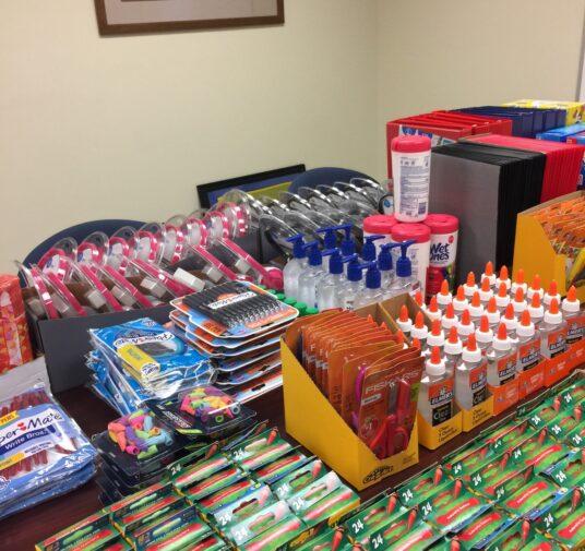 2019 School Supply Donation