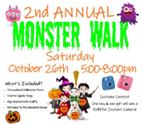 Monster Walk 2019 - October 26th