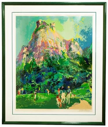 Leroy Neiman Print Raffle