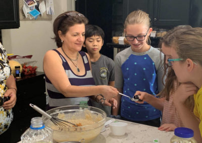 Summer Camp Cooking Lesson